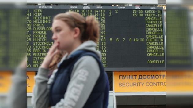 Siguen anulados los vuelos a Europa desde Moscú