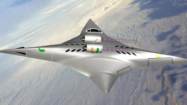 La NASA desarrollará una aeronave de cuatro alas y velocidad supersónica