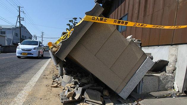 Fotos: Un terremoto en Japón de 6,3 grados de magnitud deja al menos 24 heridos