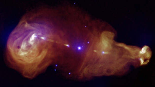 Detectan por primera vez relámpagos en un agujero negro