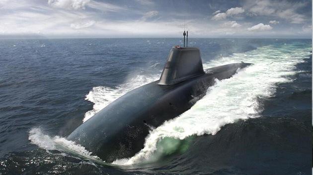 Primera imagen de los nuevos submarinos nucleares del Reino Unido