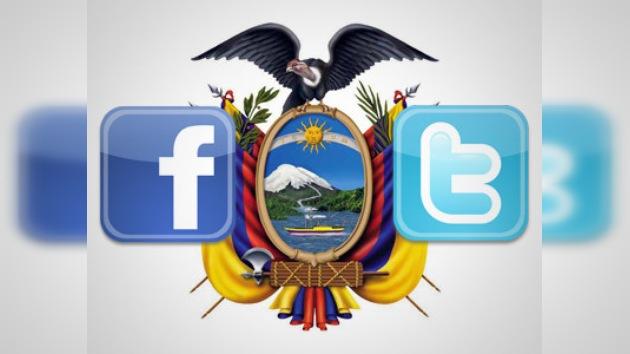 Los disturbios en Ecuador según Facebook y Twitter