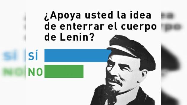El destino del cuerpo de Lenin, sometido a votación en internet