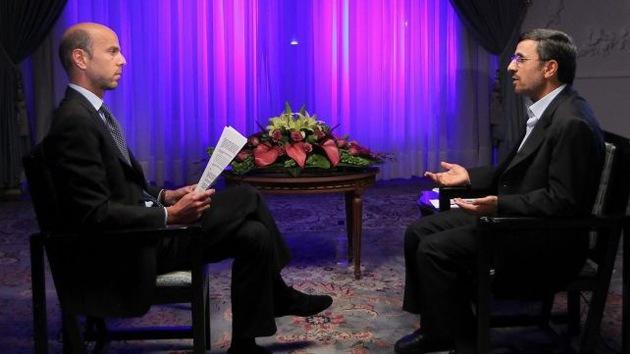 """Ahmadineyad: """"Occidente está tratando de aprovecharse del conflicto sirio"""""""