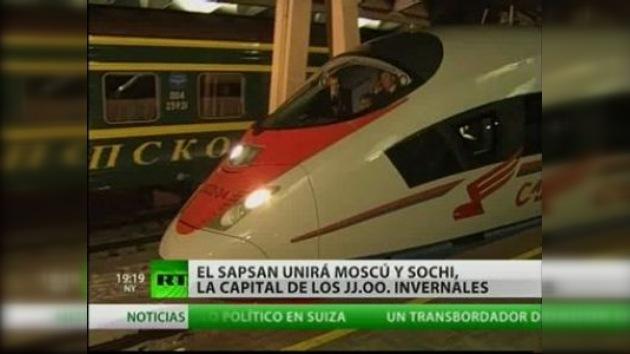 Los trenes de alta velocidad ganan popularidad en Rusia
