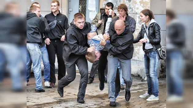 Arrestos masivos en las 'protestas silenciosas' en Bielorrusia