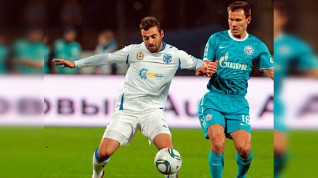 El Zenit muestra su clase venciendo 3-0 al Volga en la Liga Premier de Rusia