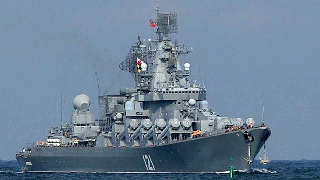 El top 10 de las naves más temibles de la Flota rusa del mar Negro