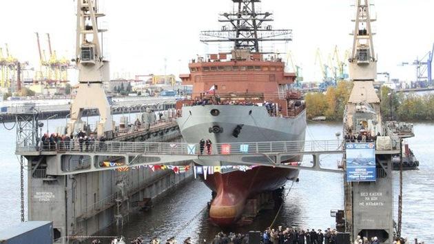 Botan en Rusia el buque espía avanzado Yuri Ivanov, que vigilará todos los océanos