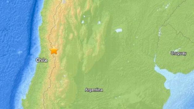 Un terremoto sacude Chile: los edificios tiemblan en la capital de Santiago
