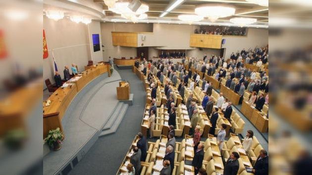 Se inagura la Duma rusa de 'coalición'