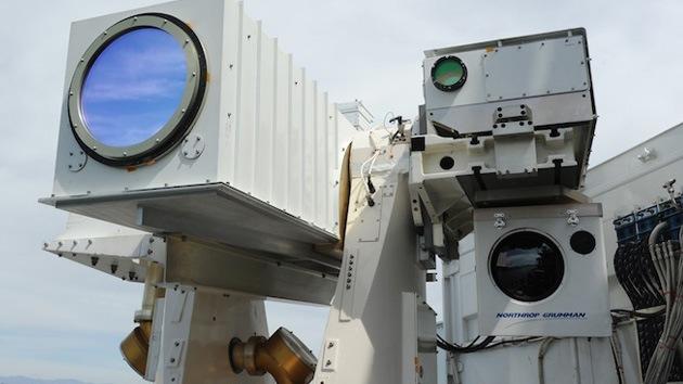 El 2013 será el 'Año del cañón láser' para la Marina de EE.UU.