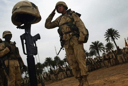 Siete años de las tropas estadounidenses en Irak
