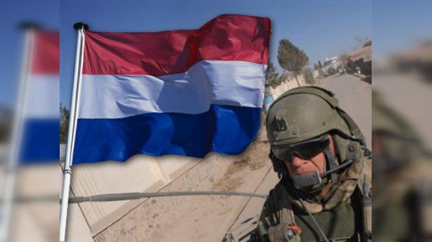 Holanda retira sus tropas de Afganistán