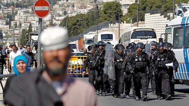 Las piedras y los gases vuelven  al Monte del Templo en Jerusalén