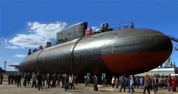 La Marina rusa acoge su avanzado submarino de ataque de propulsión nuclear