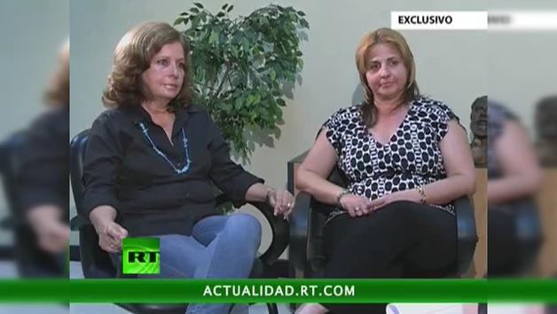 Entrevista con Olga Salanueva y Elizabeth Palmeiro, esposas de René González y Ramón Labañino