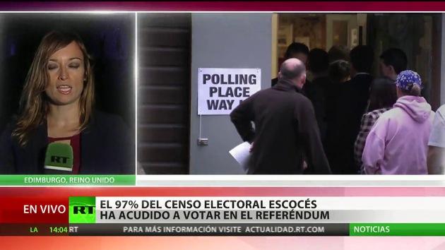 Se cierran los colegios electorales en Escocia