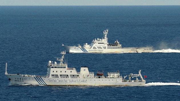 China expulsa a barcos japoneses de la zona de las islas en disputa