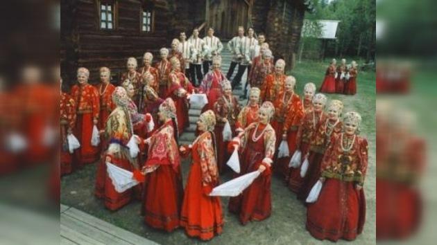 El Coro Nacional Ruso del Norte, tras las huellas de Gagarin
