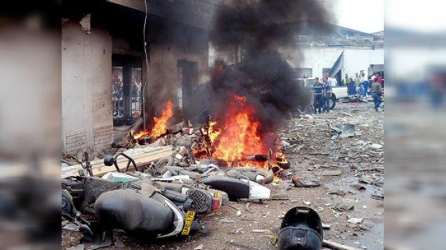 Colombia: explosión mortal ante una comisaría local