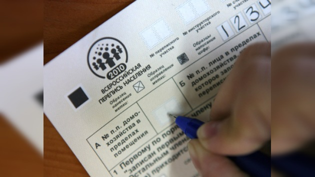 Arranca el censo de población 'Rusia se preocupa por cada uno'
