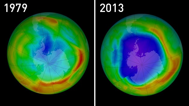 La NASA publica imágenes sobrecogedoras del impacto del hombre en la naturaleza