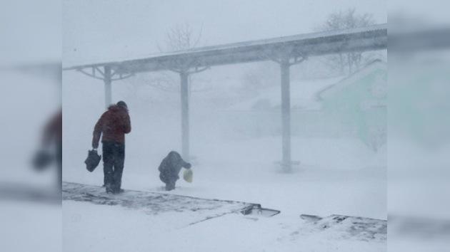 Una fuerte tormenta de nieve azota el Extremo Oriente de Rusia