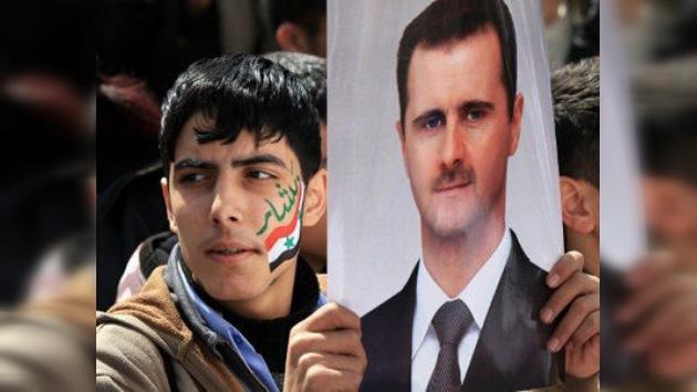 La CIA considera que Bashar al Assad controla la situación en Siria
