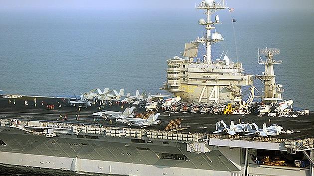 La Marina de EE.UU. ya tiene otro portaaviones más cerca de Irán