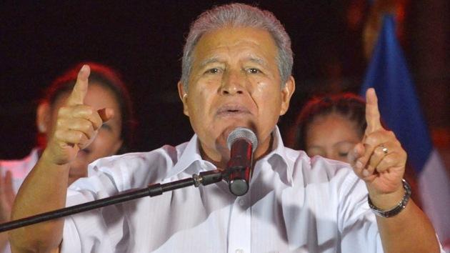 Salvador Sánchez Cerén, nuevo presidente de El Salvador