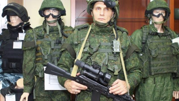 Rusia aprueba el equipamiento del 'soldado del futuro'