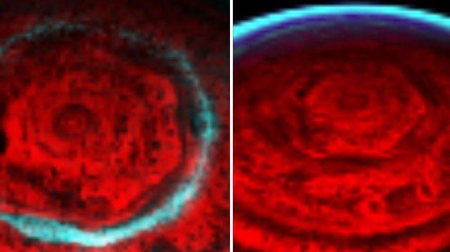 ¿Qué hexágono misterioso circunda todo el polo norte de Saturno?