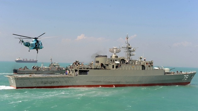 Un nuevo destructor avanzado, a punto de incorporarse a la Armada iraní