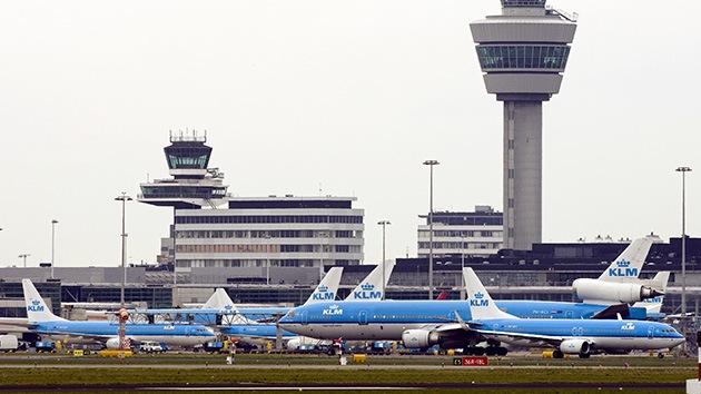 Desmienten el posible secuestro del avión en Amsterdam