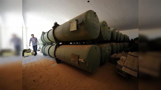 La Libia de Gaddafi tuvo armamento químico no declarado