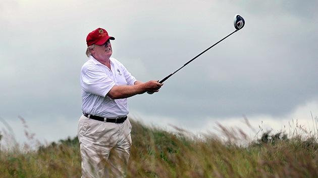 Donald Trump pierde una batalla legal contra una granja eólica cerca de su campo de golf en Escocia