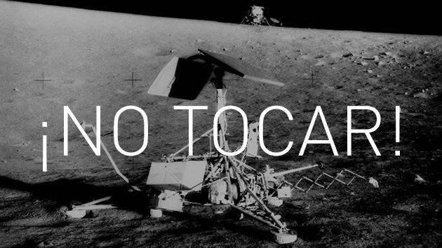 NASA: ¡Se ruega no tocar los artefactos lunares!
