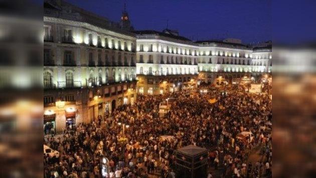 Denuncian a los 'indignados' de Madrid por ocupación ilegal