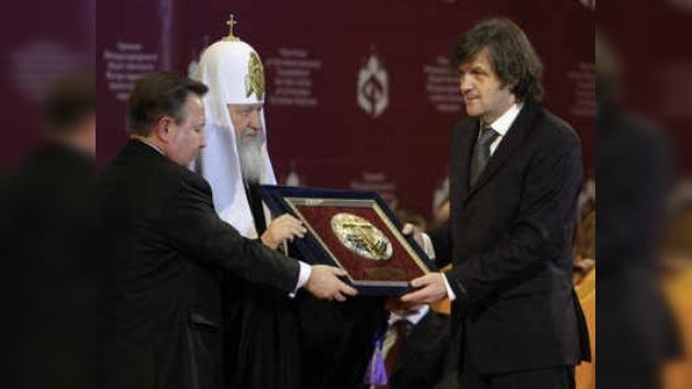 Emir Kusturica fue recibido en el Kremlin por Dmitri Medvédev