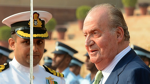 """El rey Juan Carlos: """"Desde fuera España se ve mejor. Desde dentro dan ganas de llorar"""""""
