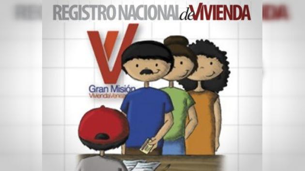Iniciada la inscripción en el programa del Gobierno venezolano 'Gran Misión Vivienda'
