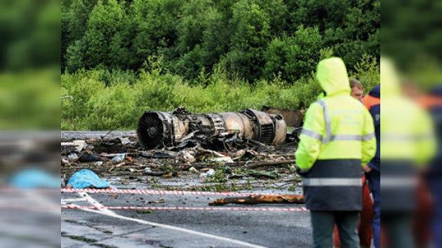 ¿A qué se debió el accidente del Tu-134? Primeras versiones