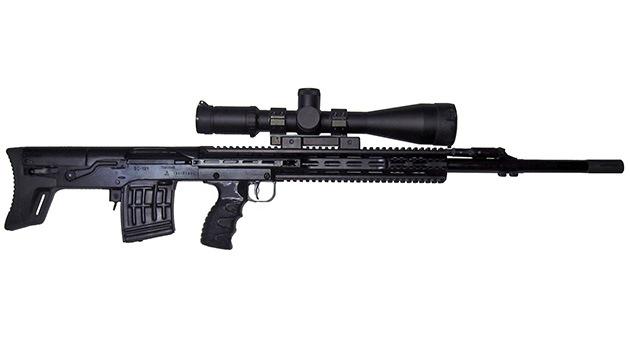 El fabricante del Kaláshnikov presenta un nuevo fusil de precisión tipo 'bullpup'