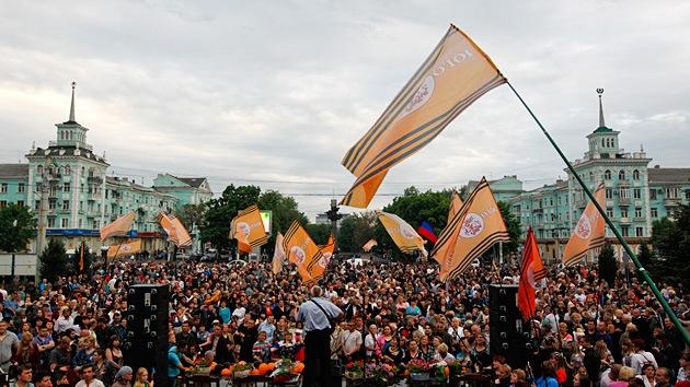 La República Popular de Lugansk pide a la ONU que reconozca su soberanía