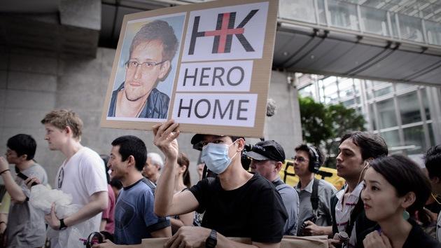 Hong Kong no entregará a Snowden si determina que su caso es político