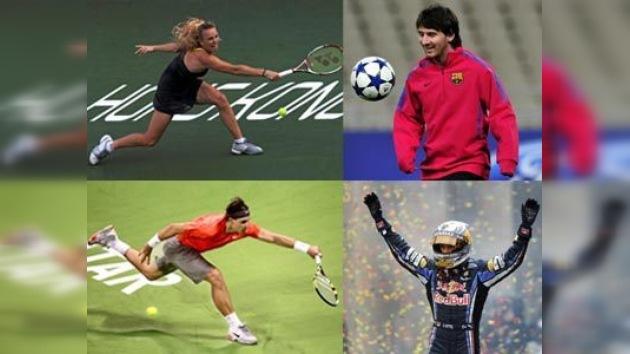 Los nominados al 'Oscar' del deporte