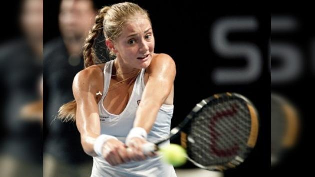 La tenista Anna Chakvetadze se desmaya por tercera vez, en dos meses, en pleno partido