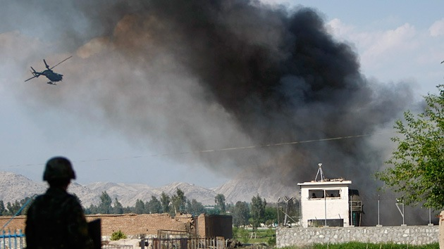 Mueren 5 soldados de la OTAN en un accidente de helicóptero en Afganistán