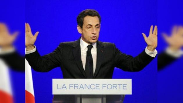 Sarkozy demanda a la web que le acusó de recibir dinero de Gaddafi